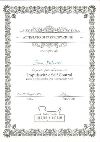 impulsività e self control